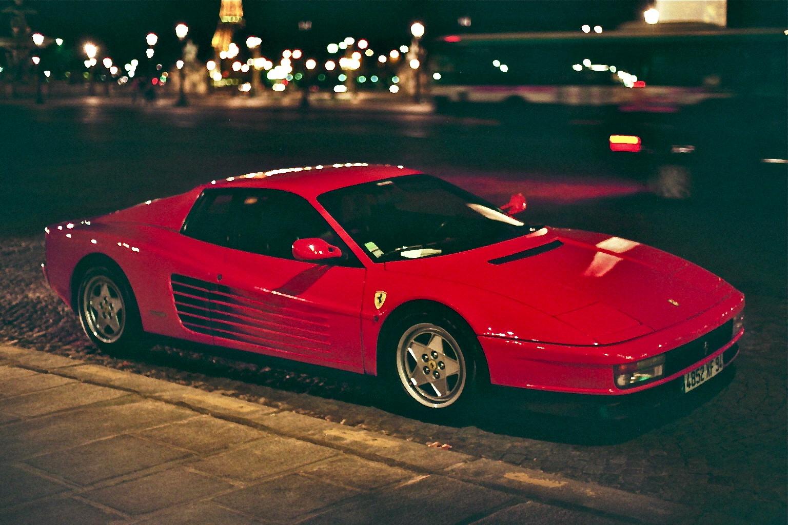 Ferrari Testarossa   The Importance Of Well Known Trademarks Genuine Use